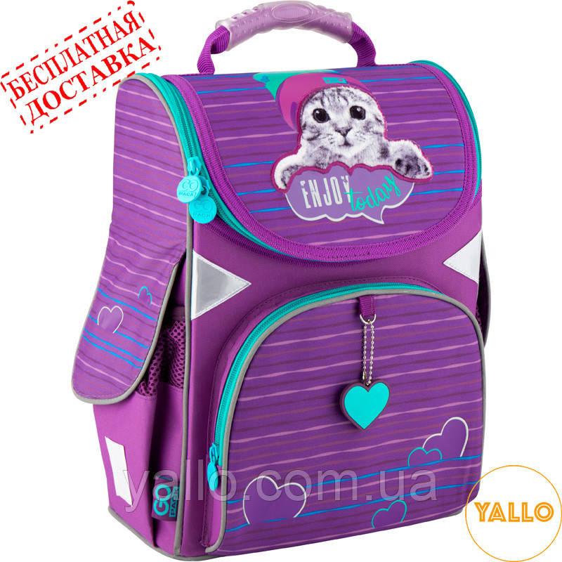 Рюкзак школьный каркасный GoPack Education 5001-5 Cactus (GO20-5001S-5)