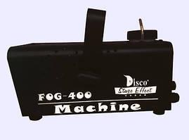 Дим машина / генератор диму Disco Stage Effects, 400W (чорна)