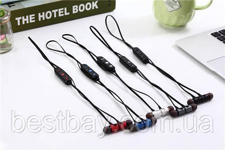 Наушники с Bluetooth/MicroCD (Магнитные, спортивные, мощные) MG-G20, фото 2
