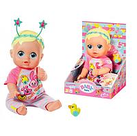 Интерактивный пупс Кукла Беби Борн с функциями 36 см BABY born 826164 серии Забавные лица