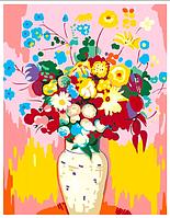 Картина по номерам Ваза с цветами