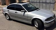 Защита окон, дефлекторы, ветровики для авто BMW 3 sedan (E46) 1998-2005 \ БМВ 3 серия (11121 / 011)