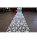 Ковер Лущув BCF Base 100x360 см серый прямоугольный (Q2543), фото 4