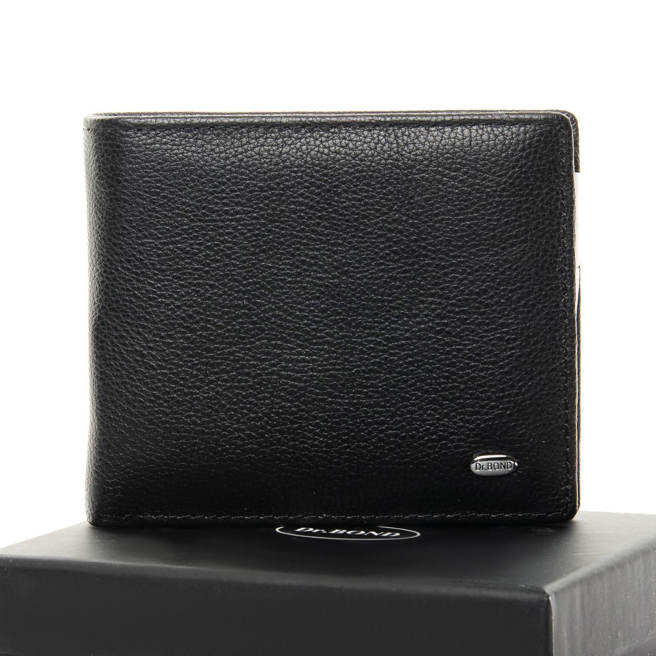 Кошелек Classic кожа DR. BOND MSM-3 black
