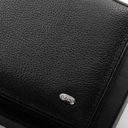 Кошелек Classic кожа DR. BOND MSM-3 black, фото 2