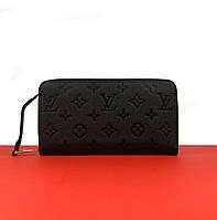 Кошелек Louis Vuitton CLEMENCE черный (Луи Виттон) арт. 22-07, фото 1