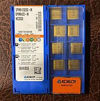 Пластина твердосплавная KORLOY SPMR 120308-M NC3030