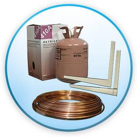 Матеріали та пристрої для монтажу кондиціонерів