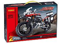Конструктор DECOOL 3369B ТЕХНИК - Мотоцикл R1200GS (603 дет.), фото 1