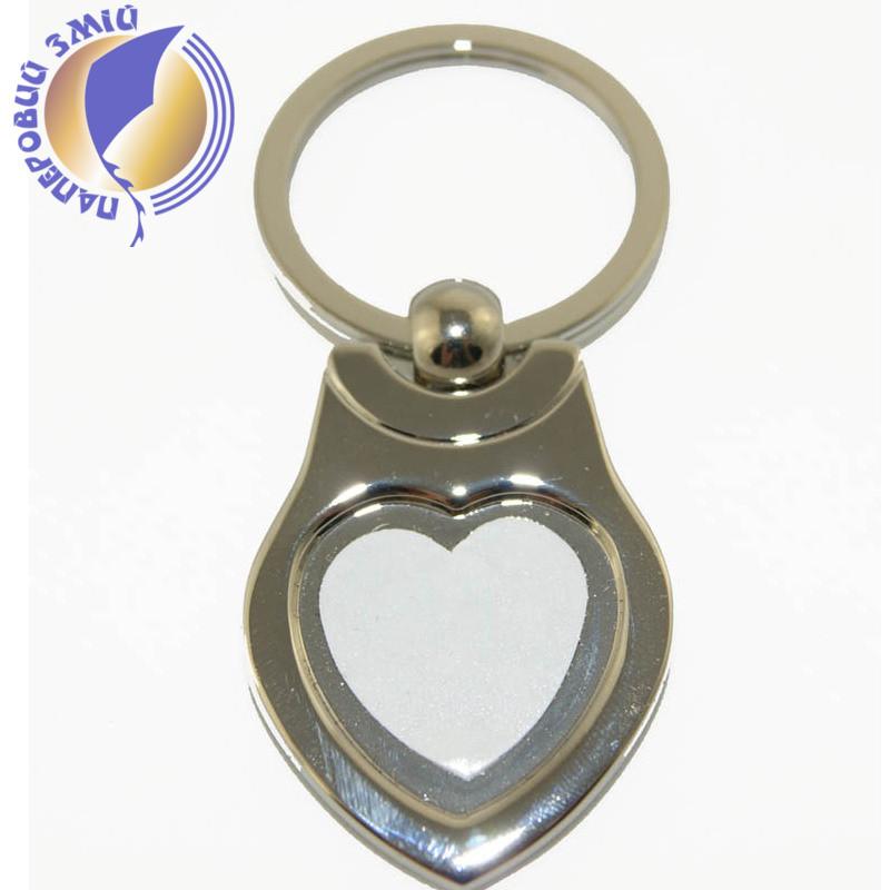 "Брелок в форме ""Сердце"" для сублимации"