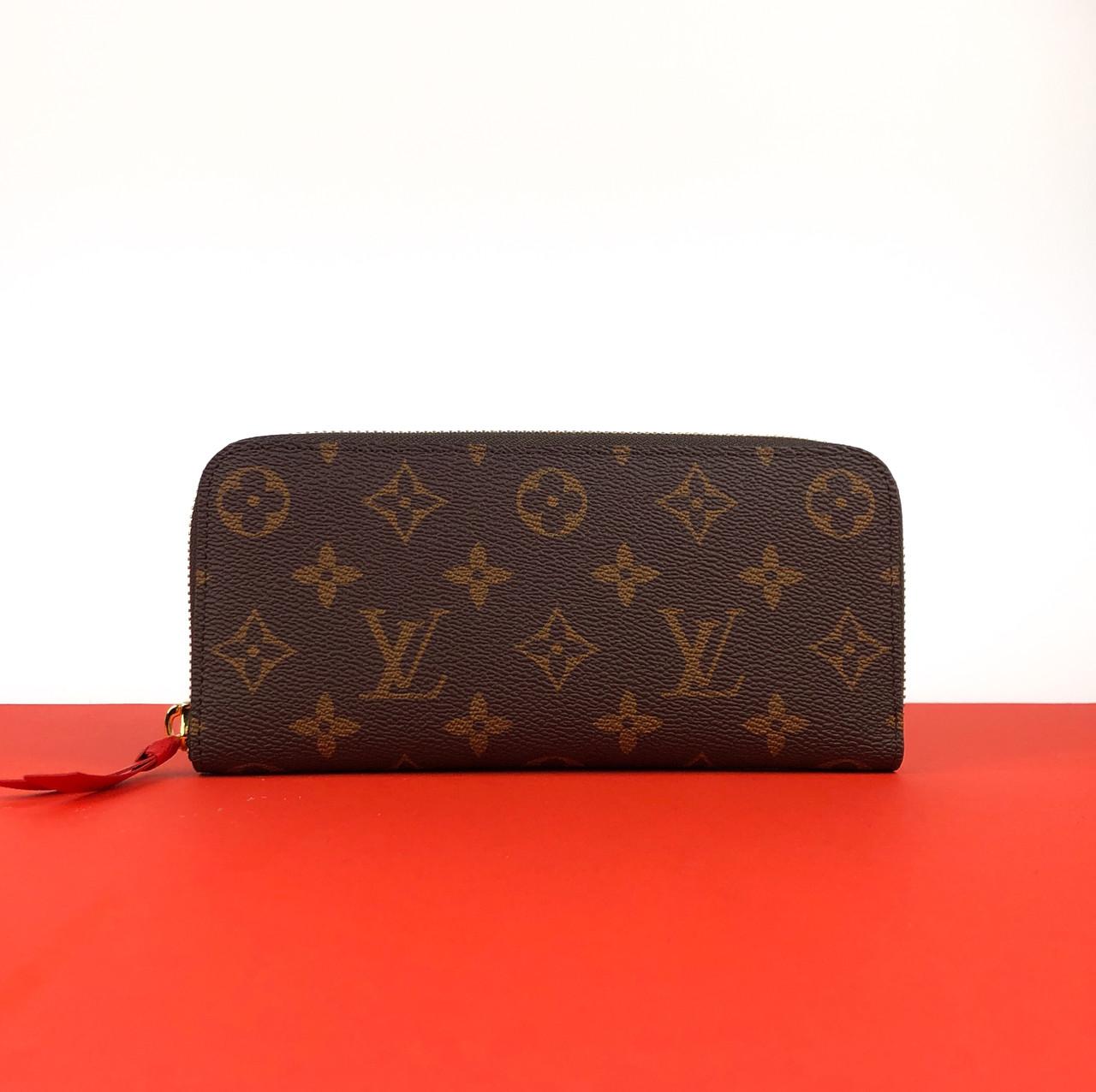Кошелек Louis Vuitton Clémence красный (Луи Виттон) арт. 22-03