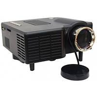 Портативный мультимедийный проектор Unic UC28 Plus WiFi/AV/VGA/USB/SD/HDMI Black