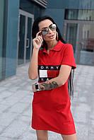 Спортивное платье поло ЛЧ 023D/013, фото 1