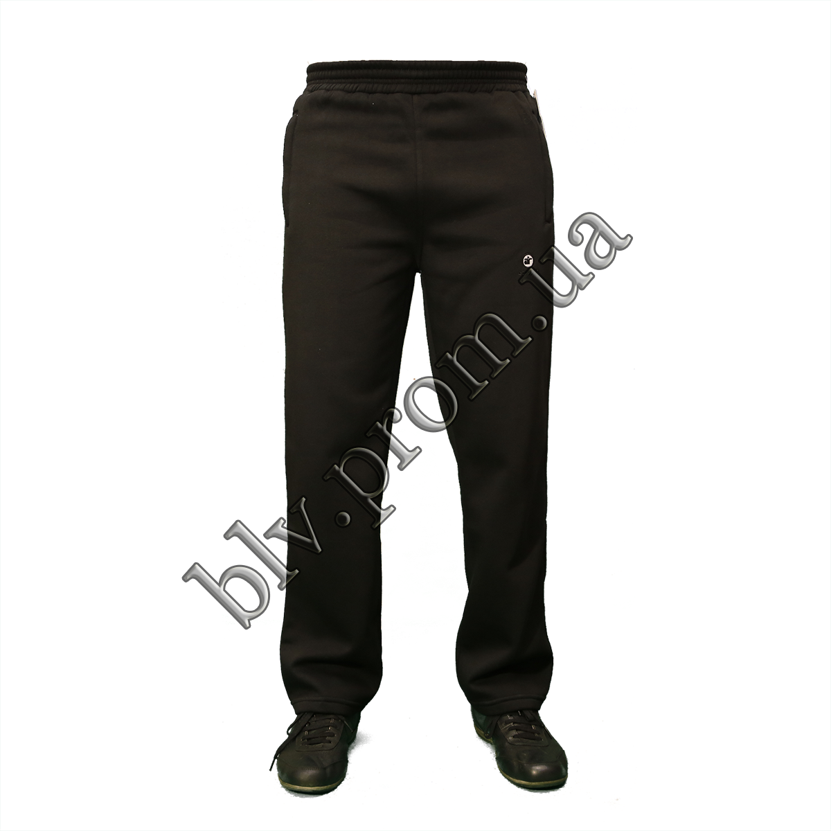 Теплые мужские брюки байка KD314 Black