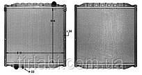 Радиатор ман л2000 М, L2000, ME до 2005г.
