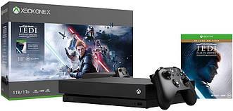 Игровая приставка Microsoft Xbox ONE  X 1TB+Star Wars Jedi