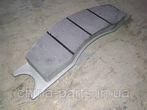 Колодка тормозная ZL40.12.4-4 искривл