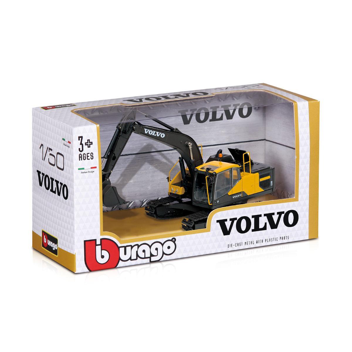 Автомодель Серії Construction - Екскаватор Volvo Ec220E