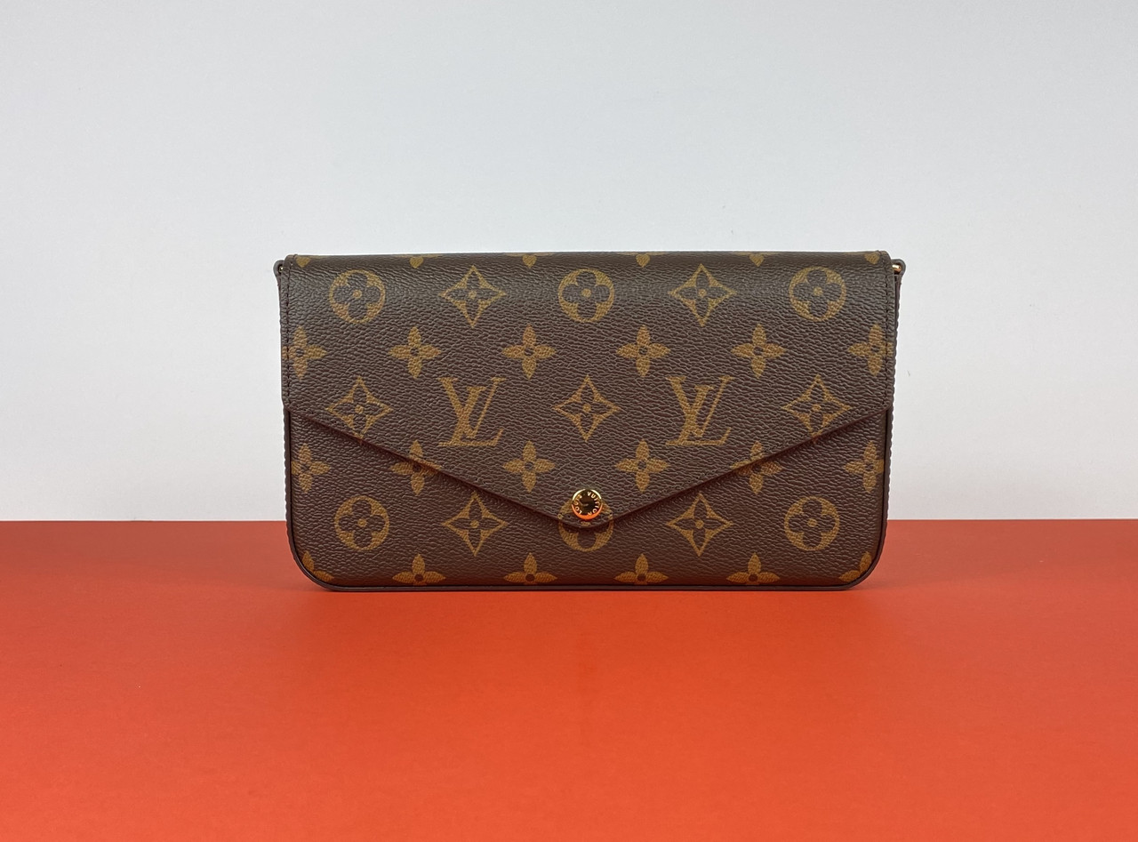 Клатч - кошелек Louis Vuitton Pochette Felicie Monogram (Луи Виттон) арт. 22-20