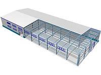 Построить склад, ангар, цех, мини-ферму, зернохранилище. БМЗ строительство от Инстил Украина