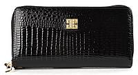 Вместительный женский кошелек барсетка на две молнии высокого качества FUERDANNI art. 319-2, фото 1