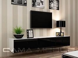 ТВ тумба RTV VIGO 180 (білий/чорний) (CAMA)