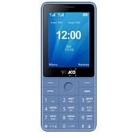 Кнопочный телефон с аккумулятором большой емкости и мп3 плеером на 2 sim Verico Qin S282 Blue