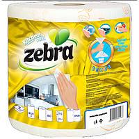 """Бумажные полотенца двухслойные с рисунком """"Zebra"""""""