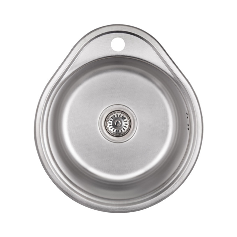 Кухонная мойка Lidz 4843 Decor 0,6 мм (LIDZ484306DEC)
