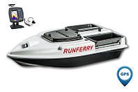 Карповый кораблик Camarad V3 GPS + Lucky 918 White