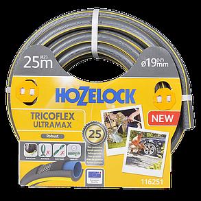Шланг HoZelock 116251 TRICOFLEX ULTRAMAX 19 мм 25 м, фото 2