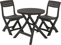 Набор мебели для сада мебели Keter Jazz set (набор садовой мебели, комплект мебели на балкон), фото 1