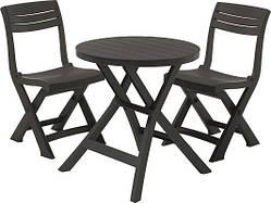 Набір меблів для саду меблів Keter Jazz set (набір садових меблів, комплект меблів на балкон)