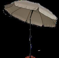 Зонт садовий (пляжний) TE-003-240 бежевий, фото 1