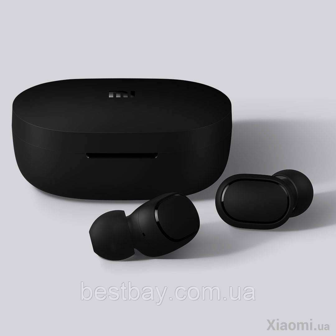 Беспроводные вакуумные наушники Xiaomi Redmi AirDots Black ORIGINAL !