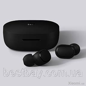 Беспроводные вакуумные наушники Xiaomi Redmi AirDots Black ORIGINAL !, фото 2