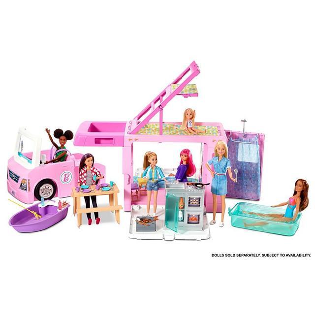 Игровой набор Barbie 3-in-1 Dream Camper Vehicle