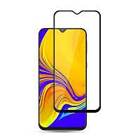 Защитное Full Glue 3D стекло Samsung M20 черное