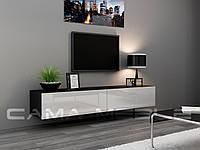 ТВ тумба RTV VIGO 180 (черный/белый) (CAMA)