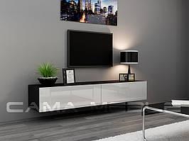 ТВ тумба RTV VIGO 180 (чорний/білий) (CAMA)