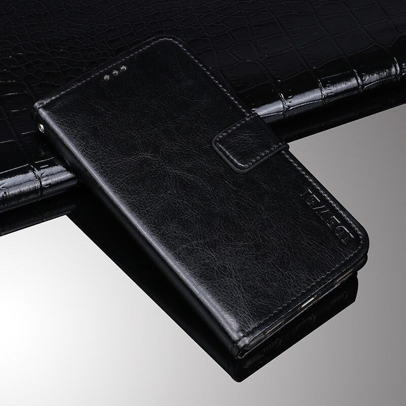 Чехол Idewei для Samsung Galaxy S10 Plus (G975) книжка с визитницей черный