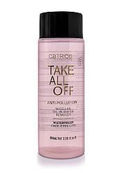 Засіб для зняття макіяжу Take Off All – Anti-Pollution Micellar Oil-in-Water Remover