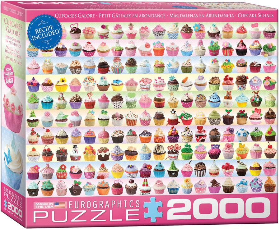 Пазл 2000 Eurographics Кекси (Cupcakes Galore)