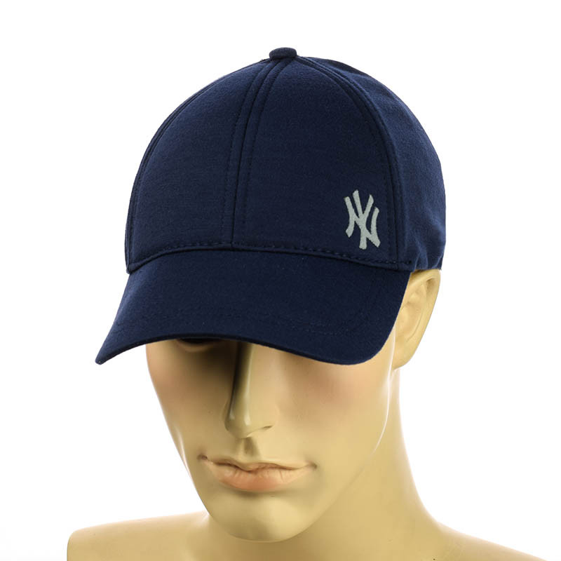 """Гладкая бейсболка стрейч  """"New York"""""""