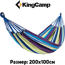 Гамак KingCamp Canvas Нammock (purple yellow)