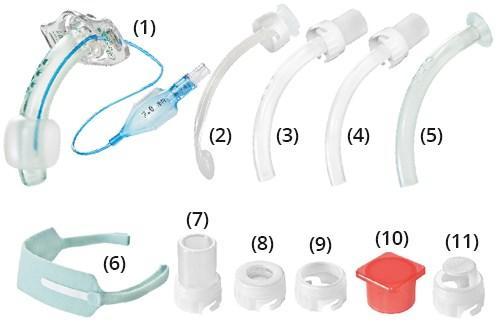 Набір для трахеостомії (Трубка KAN 8.0 c манжетою, фенестрированная)