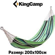 Гамак KingCamp Canvas Нammock (green black)