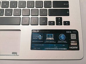 Б/У корпус крышка клавиатуры (топкейс) для ASUS X301 X301A Series EAXJ6006020, фото 2