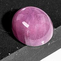Кабошон рубин розовый, 11,8*10,4 мм., 9,82 карат, 659КБР, фото 1