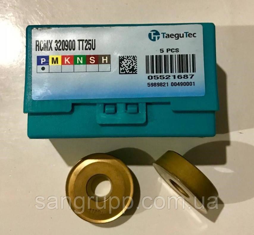 Твердосплавна Пластина TAEGUTEC RCMX 320900 TT25U